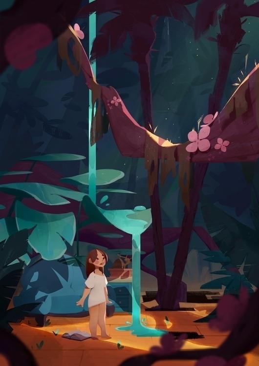 Waking - illustration, nature, children - sonny-2874 | ello