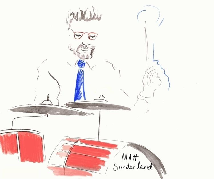 Drummer - drummer, music, livedrawing - irclowes | ello
