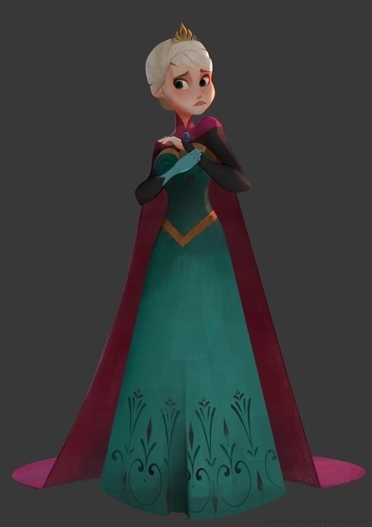 Elsa - characterdesign, character - sonny-2874 | ello
