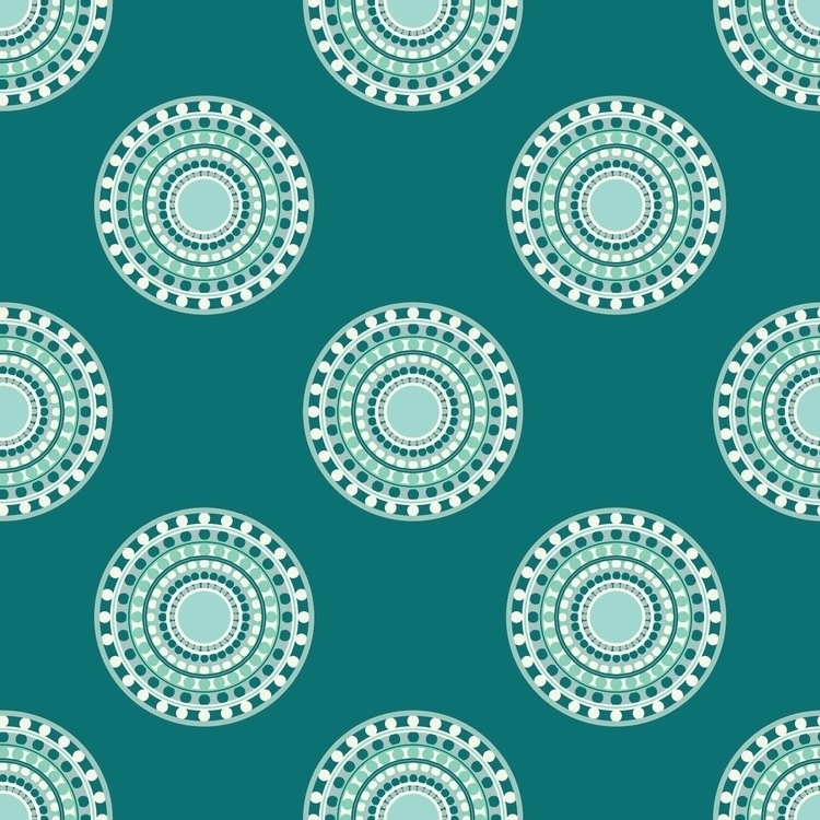 Winter Mint - pattern, patterndesign - kayla_catherine | ello