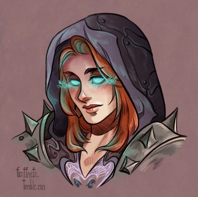 Aliede - Commission - worldofwarcraft - crystalcurtis | ello