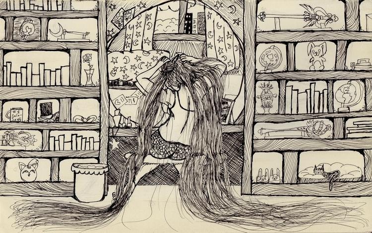 Usagi Hair - sailormoon, fanart - kayla_catherine | ello