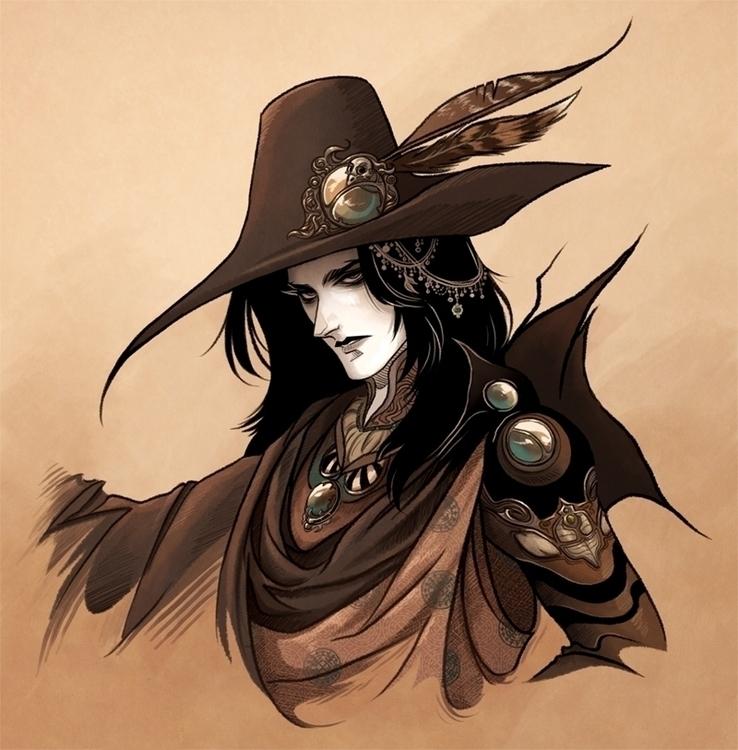 Vampire Hunter - Fanart - vampire - crystalcurtis | ello