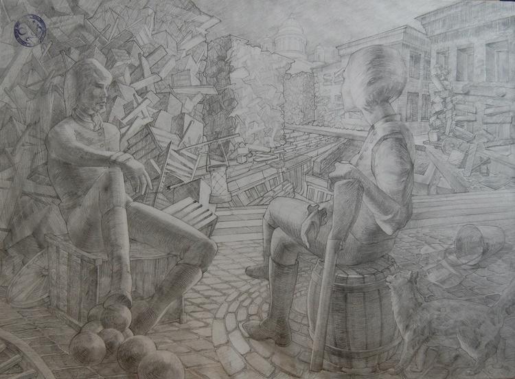 drawing - anitakhrustaleva | ello