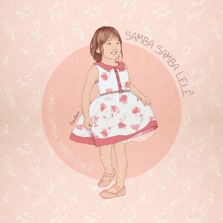 Cute asian girl dancing brazili - danibaum | ello