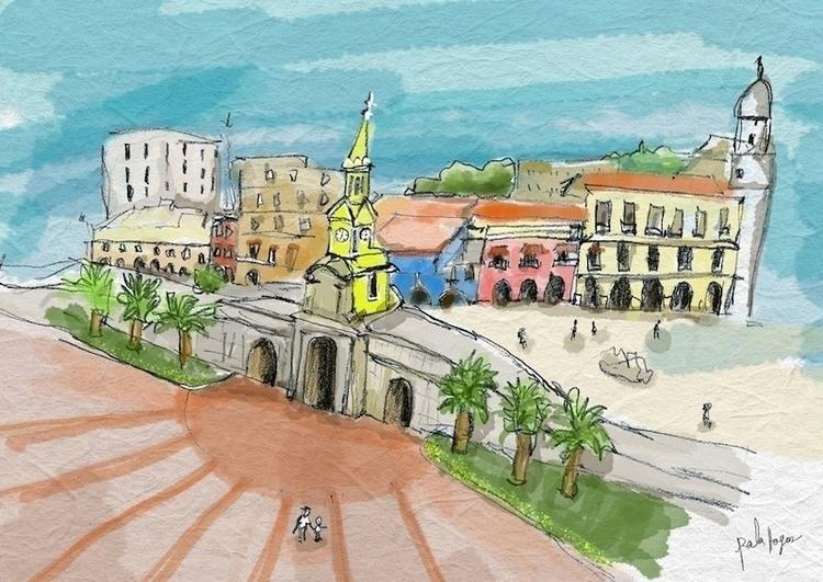La puesta del relos, Cartagena  - palahoyos | ello