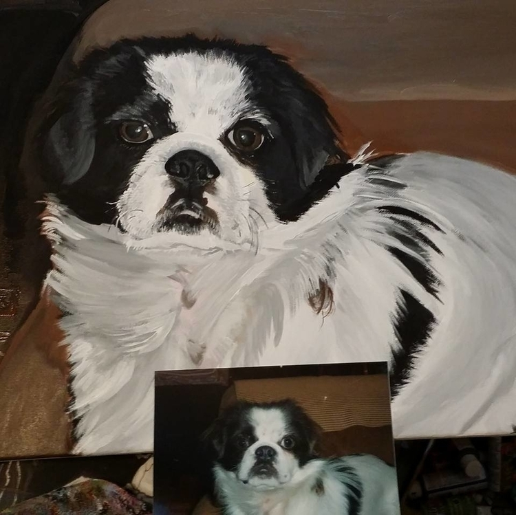 customer - dog, woof, canine, fur - lizzywhothefunkc | ello