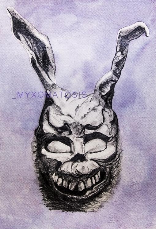 05. Myxomatosis - illustration, drawing - elenamantovan | ello