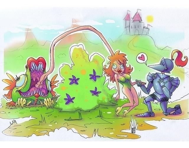 Monster illustration! Ye beware - satoleek   ello