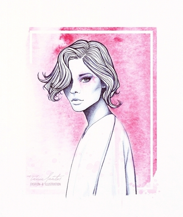 Fashion illustration picture lo - taniasantos | ello