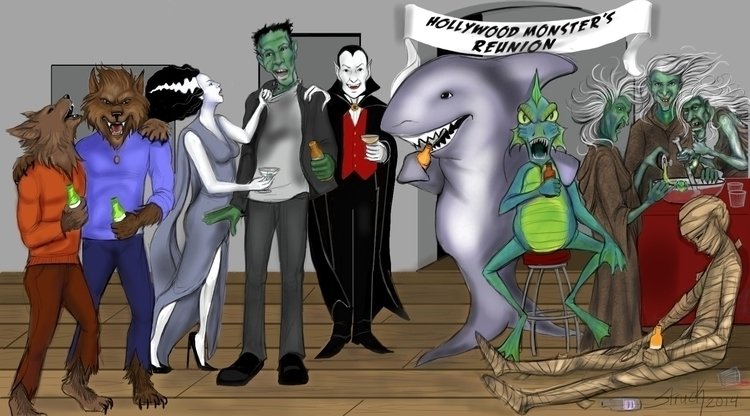 Monster Reunion - sstruck | ello