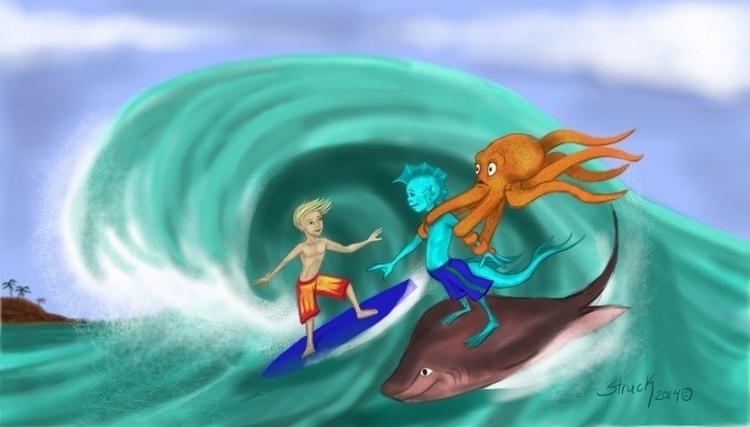 Surfer dudes - sstruck | ello