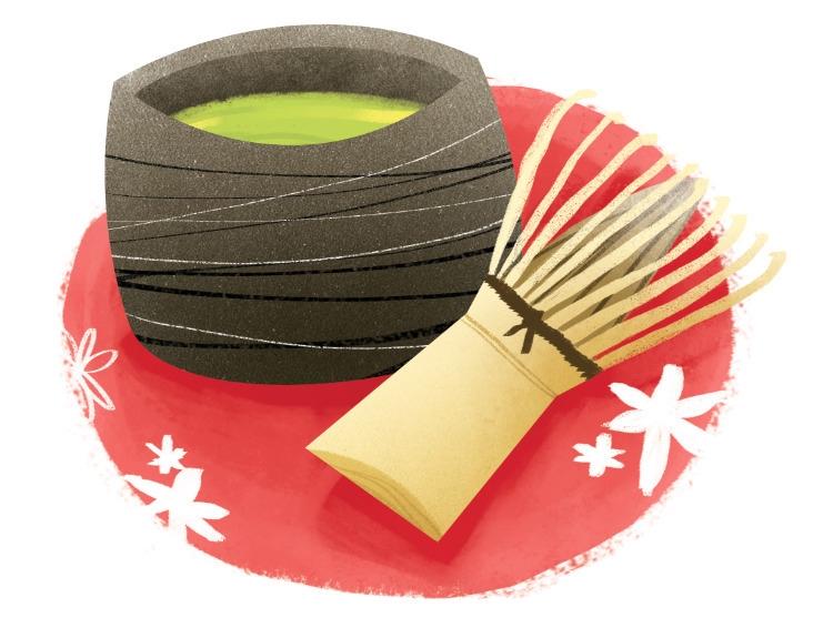 japanese tea - foodillustration - lynhuiong   ello