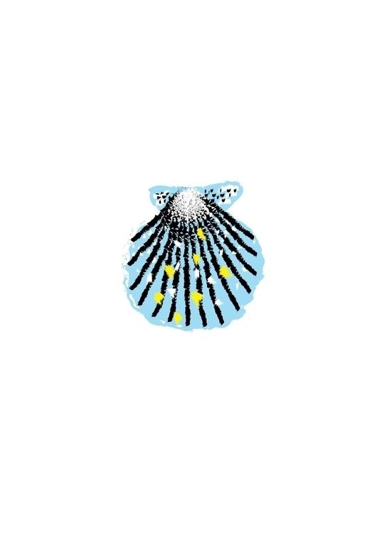 shell, illustration, beatrizalao - beatrizalao | ello