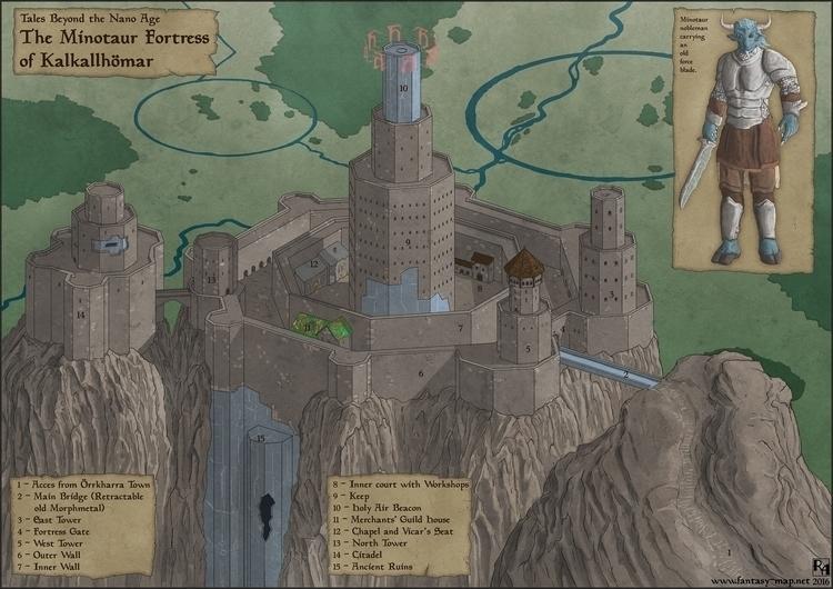 Minotaur Fortress - future sett - robertaltbauer | ello