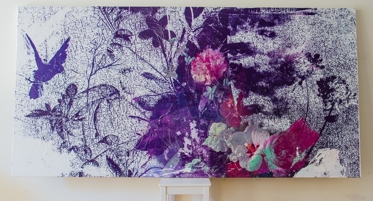 Mixed media art canvas. Size: 2 - teisalbers | ello