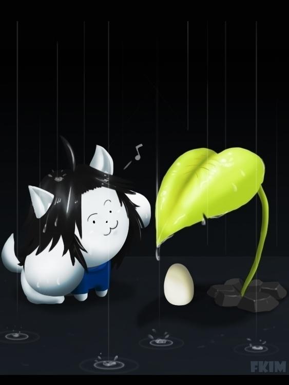 Tem...watch egg!!! wil HATCH - illustration - fkim90 | ello
