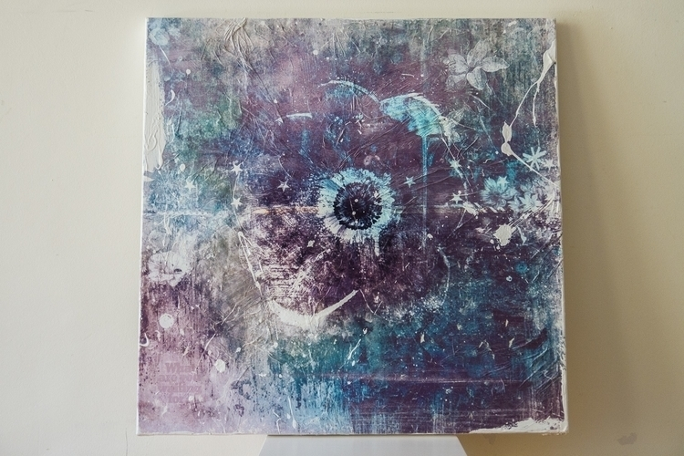 Mixed media art canvas. Size: 2 - teisalbers | ello