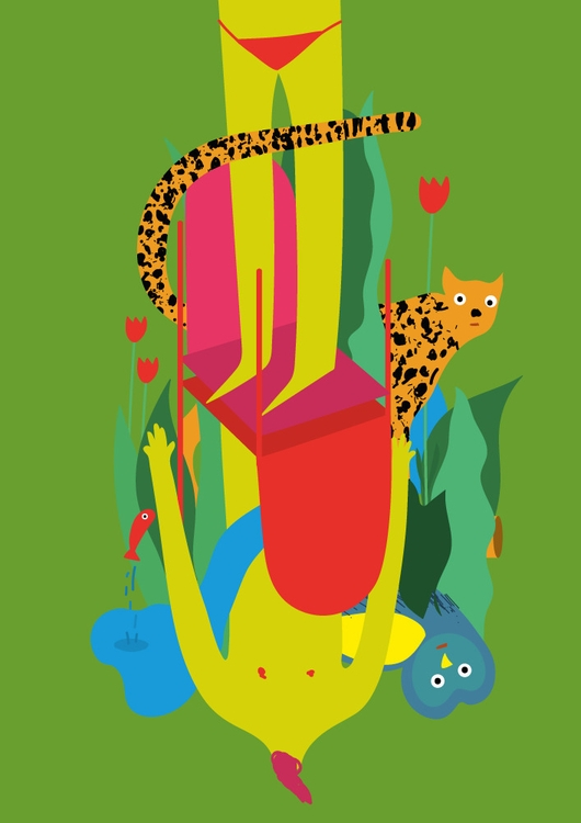 chair world - illustration, digitalart - ggiannatempo | ello