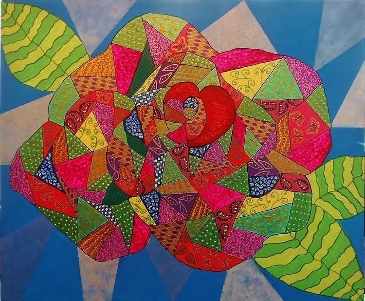 Rose Heart - mariposa101 | ello