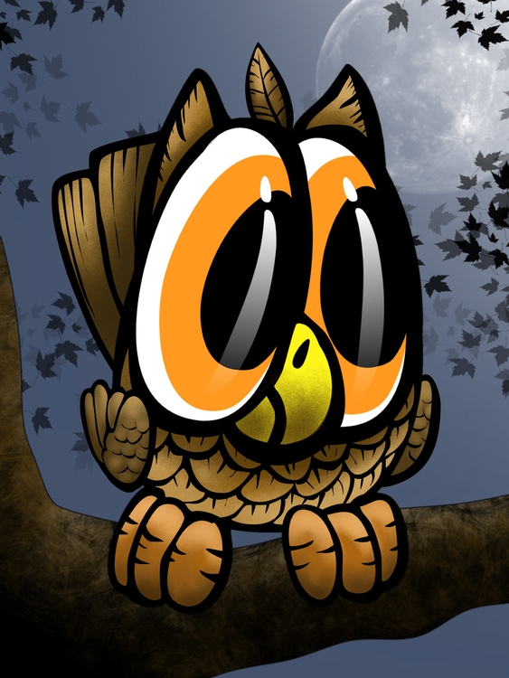 owl, ipad, illustration, sketchclub - dmerchen | ello