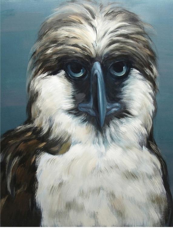 bird-man - painting - igorkonovalov | ello