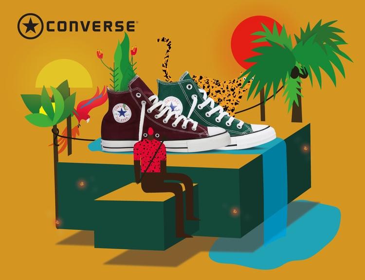 Advertising Converse - converse - ggiannatempo   ello