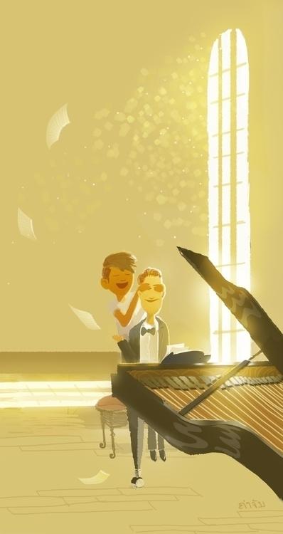 PianoMan Oth Khotsimeuang - othbot   ello