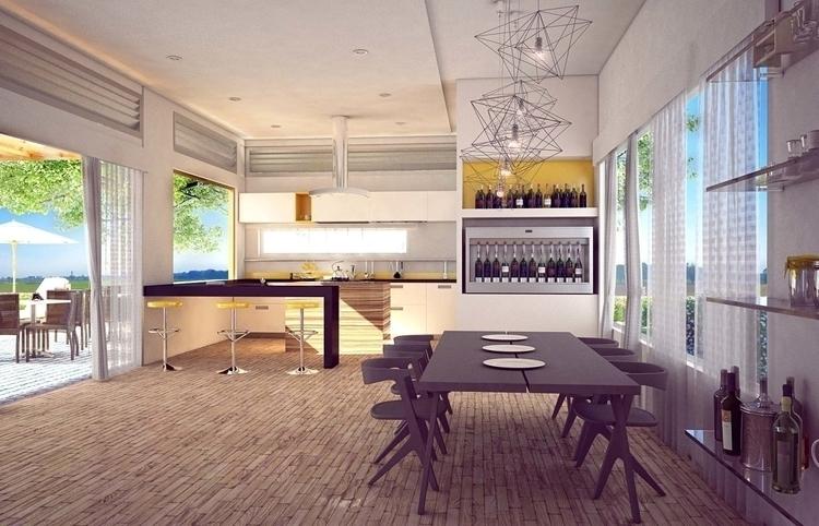 Cocina Casa Villeta - architecture - cristianebratt | ello