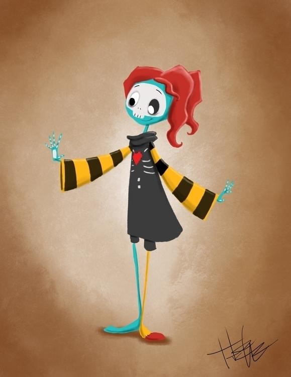 SkullPatch Girl - thepatchworkgirl - hasaniwalker | ello