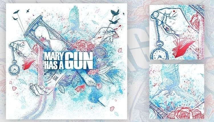 Artwork album cover EP - Mary G - ladislas-2174 | ello