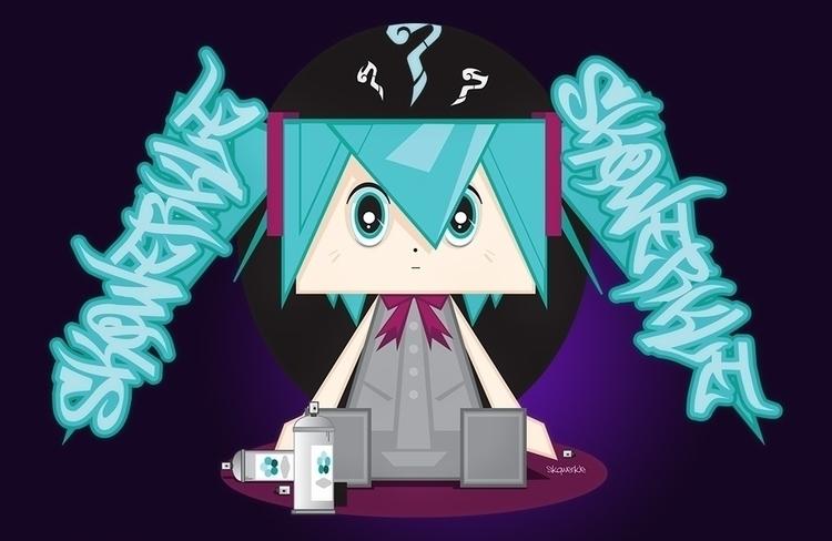 friend Miku - anime style skqwe - sparky-2715 | ello