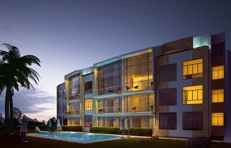 Edificio - architecture, architecturalvisualisation - cristianebratt | ello