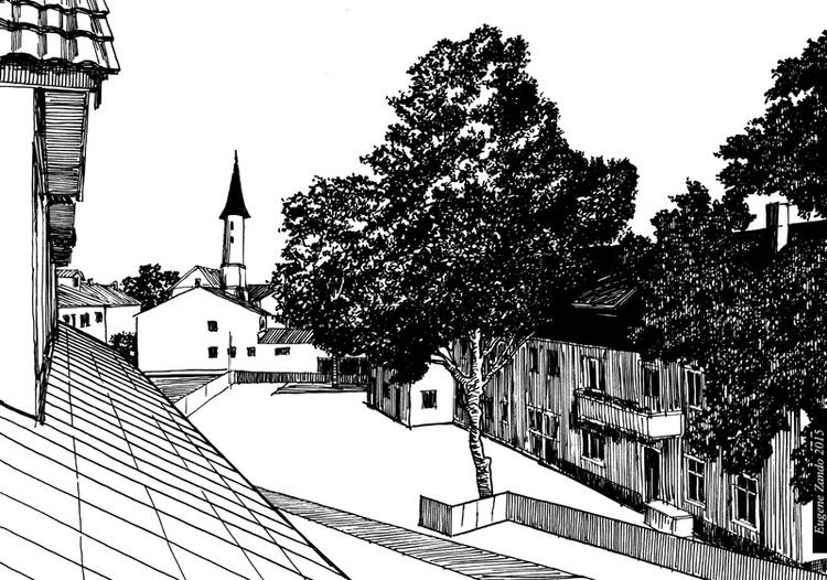 E6 - illustration, drawing - sarychev | ello