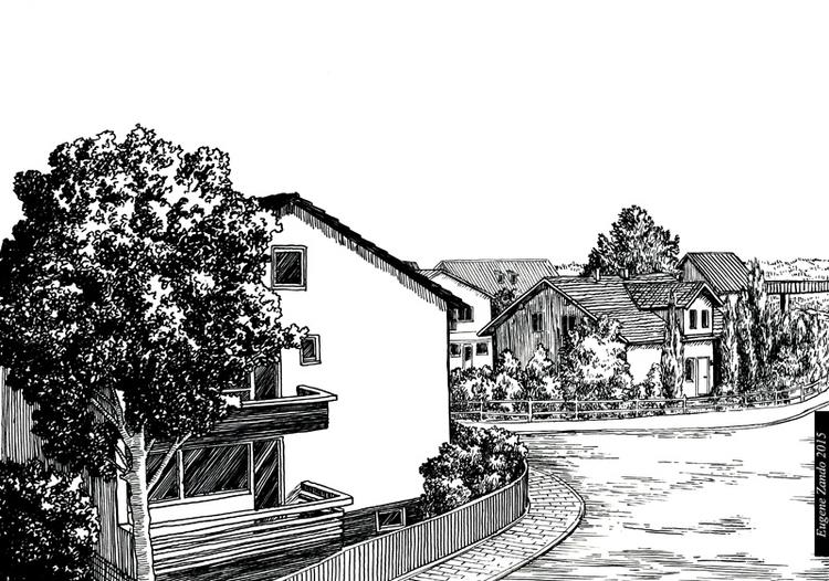 E8 - illustration, drawing - sarychev | ello