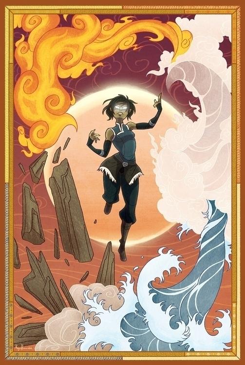 Eclipse illustration Avatar: Ch - savarama | ello