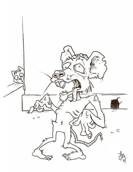 Zombie Mouse Daily Doodle... zo - jasonmartin-1263   ello