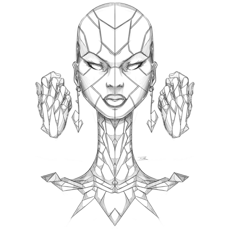 Afro-Mecha Series Piece Cogniti - theonewillfocus | ello