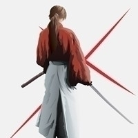 kenshin, illustration - krakark | ello