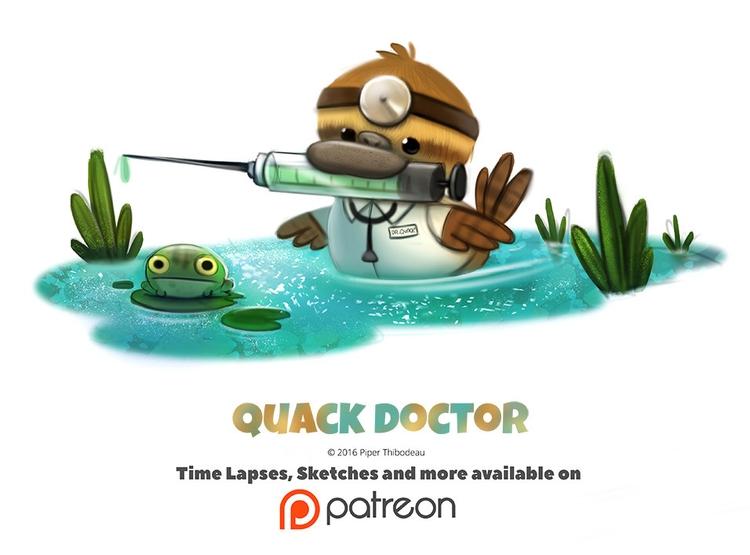 Day 1385. Quack Doctor - piperthibodeau   ello