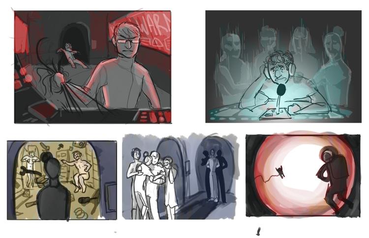 Process thumbnails story moment - cmarling | ello