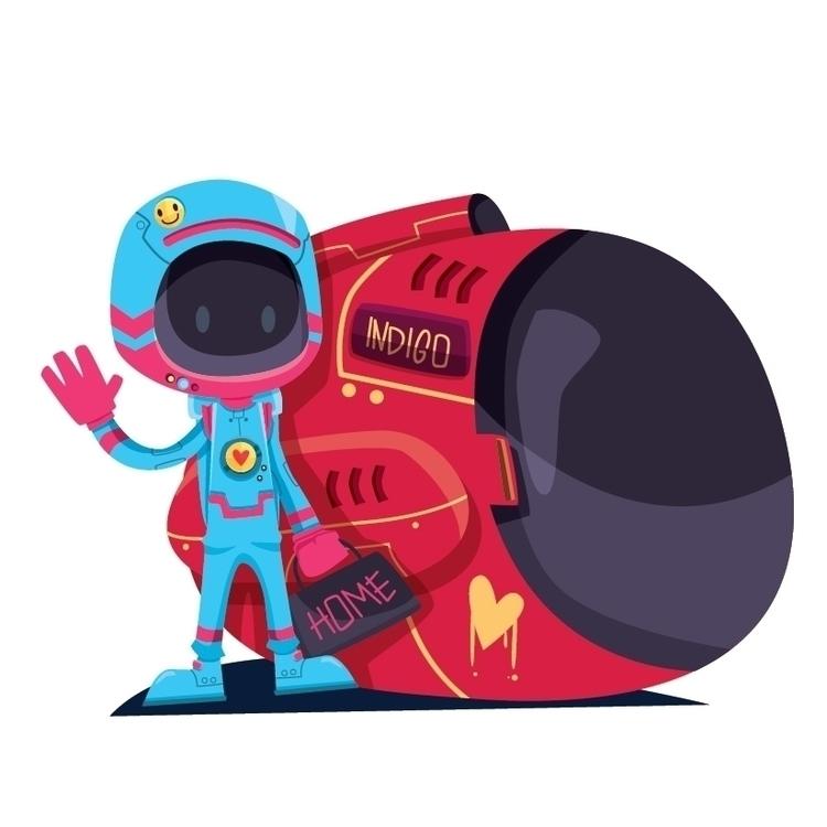 Loa, astronaut explore outer sp - saleseles | ello