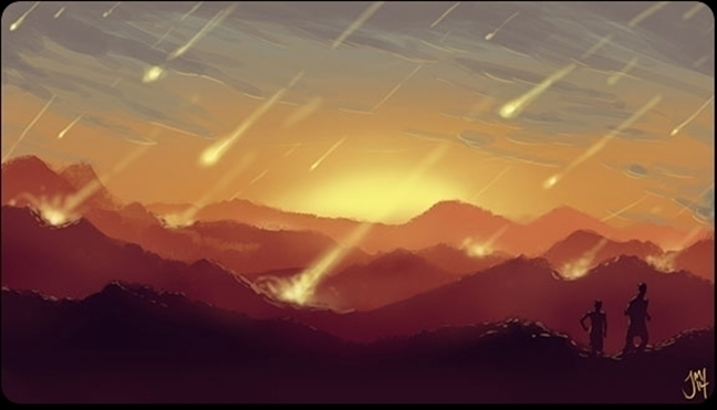 Meteor Speed Paint, 30 min - speedpaint - jasonmartin-1263 | ello