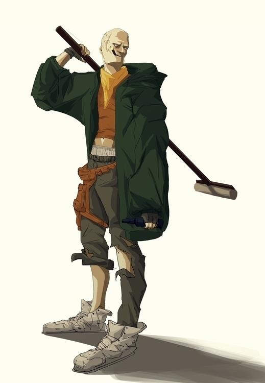 illustration, characterdesign - rr-8165 | ello