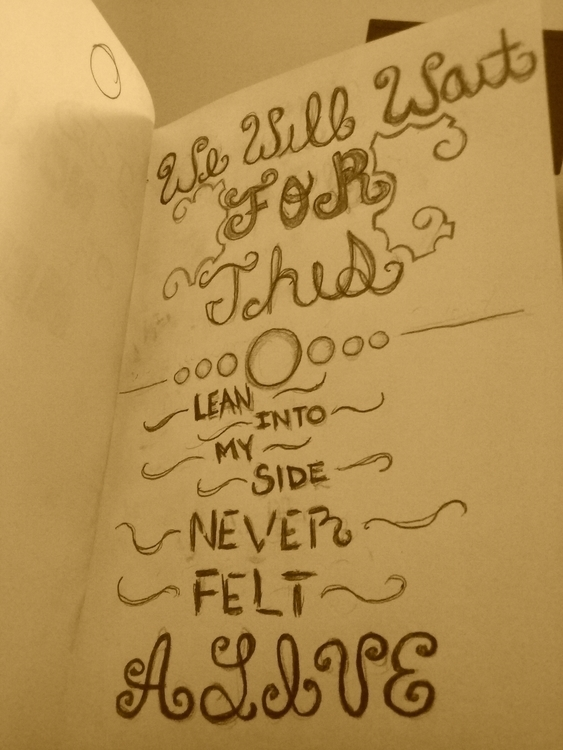 Lyrics inspiration typographic  - valerialopez | ello