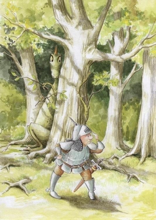 Gouache, watercolor pencils - illustration - joannapasek | ello