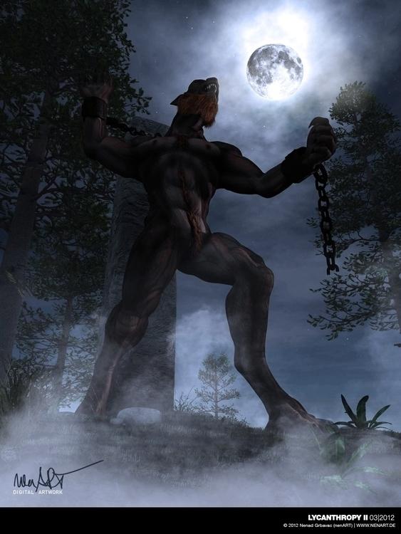 Lycanthropy II Posed DAZ3D Stud - nenart   ello