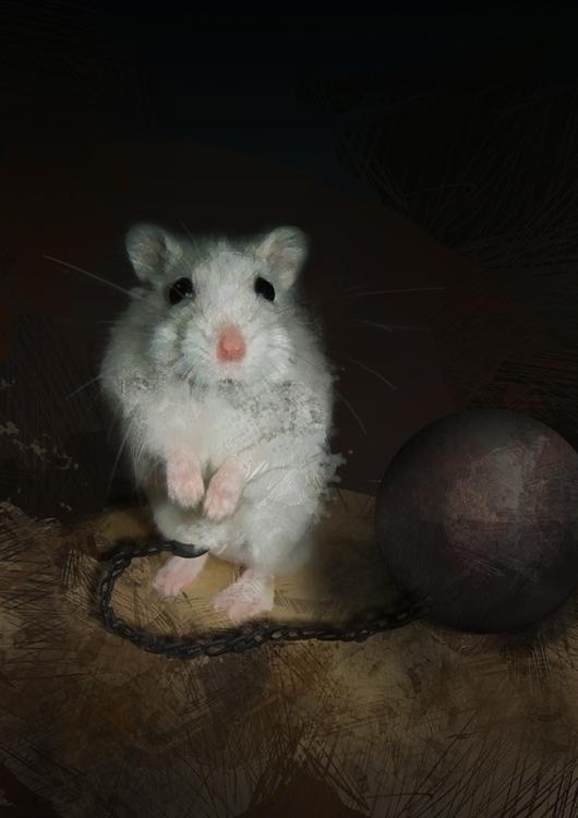 Mouse jail - mouse, ballandchain - voyanik | ello
