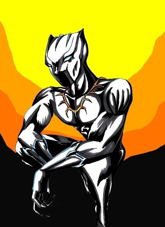Black Panther - blackpanther, comics - yaksiart | ello