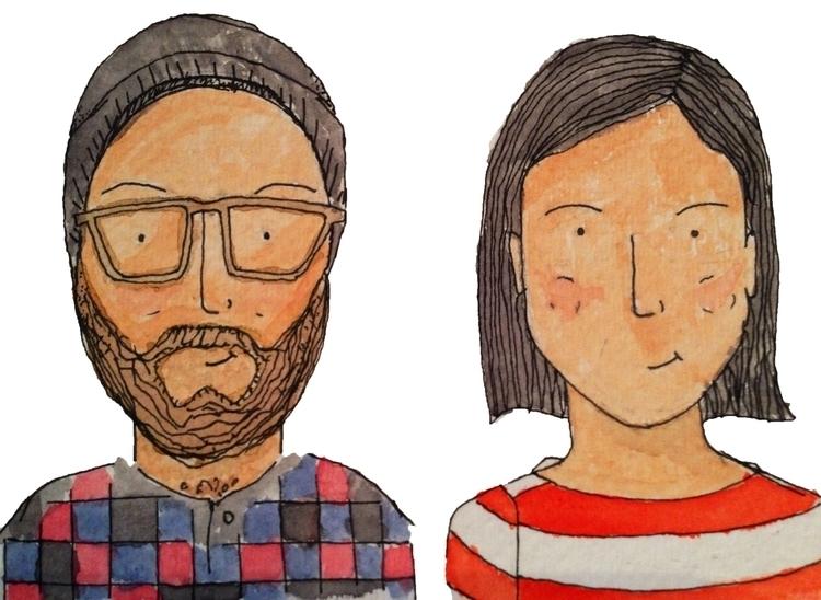 Illustrated versions love - illustration - rupedeedupe | ello